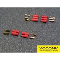 Kit De Conectores Bullets De 3,5mm P/ Motor , Esc E Bateria
