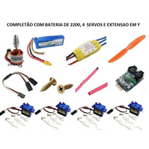 Super Combo 2830 Com Bateria De 2200, Extensao Y + Buzzer