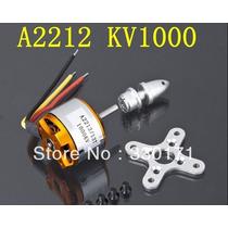 Motor Brushles 2212 1000kv Drone Aviao Futaba 900g Empuxo