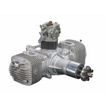 Motor Dle Engines Dle-120cc Twin Gas Com Ignição Eletronica