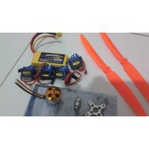 Bateria Motor Helice Cervo Esc Para Avião Aeromodelo