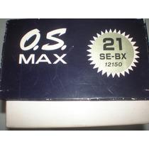 Motor O.s. Max 21 Se-bx - Zero - Novo - Carrinho