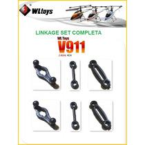 V911 Link Linkage Set Conjunto De Link 6 Peças