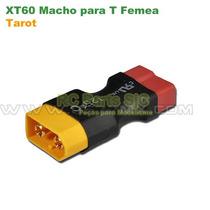 Tarot Conector Plug Adaptador Xt60 Macho Para Dean T Fêmea