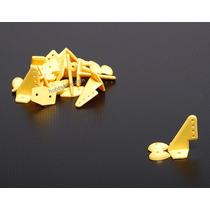 Horns 20x27mm 10 Peças (amarelo)