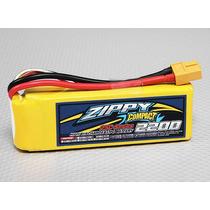 Bateria De Lipo 2200mah 3s 25c Zippy Compact Pronta Entrega!
