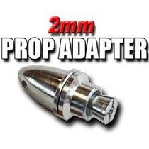 Adaptador Hélice Eixo 2mm Spinner Futaba Jr Turnigy Aviao 2