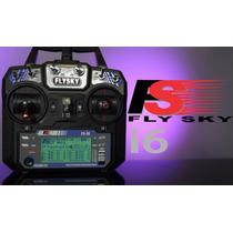 Rádio Flysky Fs-i6 6 Canais Telimétrico.