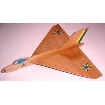 Kit Do Aeromodelo Planador Para Vôo Livre Avro Delta
