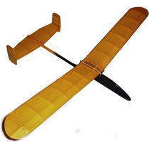 Kit Do Aeromodelo Planador Para Vôo Livre Canarinho
