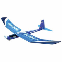 Aeromodelo Sky Walker Ep Azul C/motor E Helice Folder