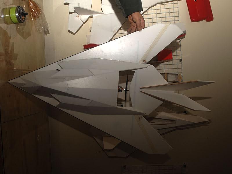 Aeromodelo F-117 Nighthawk Kit P/ Montar Em Depron 5mm - R ...