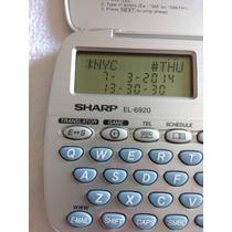 Sharp El-6920 Organizador Pessoal Tradutor Inglês/ Espanhol