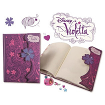 Diario Violetta Com Cadeado!!! - Violetta Oficial E Original