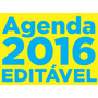 Miolo Agenda 2016 Pdf / Corel Draw / Editável