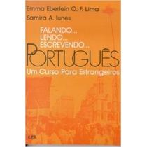 Livro Falando Lendo Escrevendo Portugues Emma Frete Gratis