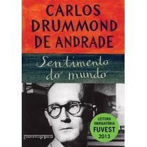 Livro Sentimento Do Mundo Carlos Drummond De Andrade