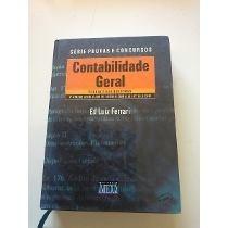 Livro Contabilidade Geral 4ª Edição Ed Luiz Ferrari