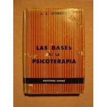 Livro Las Bases De La Psicoterapia J. L. Moreno