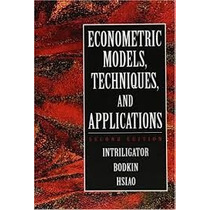 Livro Econometric Models, Techniques, And Applications