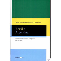 Livro Brasil E Argentina Boris Fausto