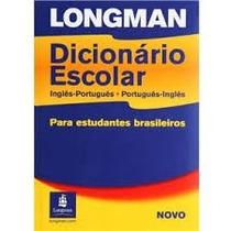 Livro Dicionário Escolar Longman