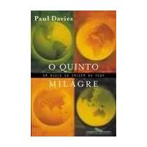 Livro O Quinto Milagre Paul Davies
