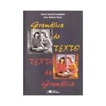 Livro Gramática Do Texto Texto Da Gramática Samira Youssef
