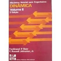 Livro Mecânica Vetorial Para Engenheiros Vol.2 Ferdinand