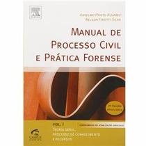 Livro Manual De Processo Civil E Prática Forense Vol.1 Ansel