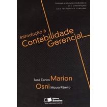 Livro Introdução A Contabilidade Gerencial José Carlos Mario