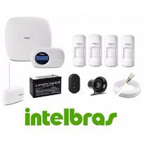 Kit Central Alarme Monitorada Intelbras Amt 2018e Completo