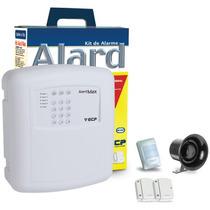 Kit Alarme Sem Fio Ecp - 3 Sensores +2 Cont + Discadora Dtmf
