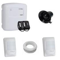 Kit De Alarme Residencial Comercial Com 02 Sensores Ecp