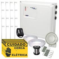 Kit Cerca Eletrica E Alarme P/ 90 Mts Ecp +controle+ Brindes