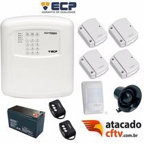 Kit Alarme Residencial Ou Comercial Sem Fio - Ecp