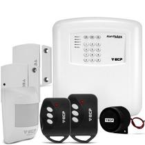 Kit Alarme Alard Max 4 Residencial E Comercial C/ 3 Sensore