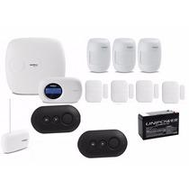 Kit Central Alarme Monitorada Intelbras Amt2018 Eg Intelbras