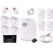 Kit De Alarme Intelbrás Sem Fio Pronto P/ Instalar 8 Sensor