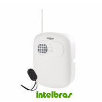 Kit Central De Alarme Anm 2004 Mf Não Monitorada Intelbras