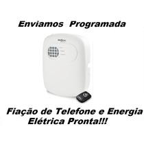 Central Alarme Residencial/ Comercial Anm 2004 Mf Intelbras