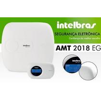 Central De Alarme Monitorada Amt 2018 Eg Intelbras