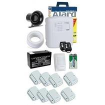 Kit Alarme Ecp Com 9 Sensores Sem Fio Completo