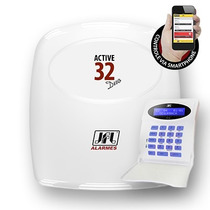 Kit Central De Alarme Monitorada Active 32 Duo Jfl