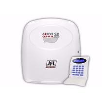 Alarme Monitorado Jfl Active 20 Gprs Com Teclado Lcd Tec100