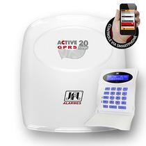 Alarme Monitorado Jfl Active 20 Gprs Com Teclado Lcd