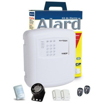 Kit Alarme Residência Comércio S/fio Alard Max1 Ecp F109270