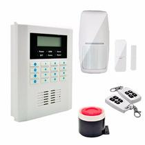 Alarme Residencial Gsm Sensor De Presença Sem Fio