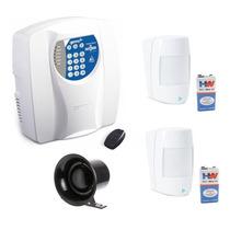 Alarme Residencial E Comercial Sem Fio C/ 2 Sensores E Cent