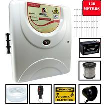 Kit Cerca Elétrica Residencial 120 Metros + Econômico
